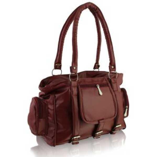 Maroon Handbag sskclem18