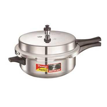 f294909a1 Prestige Popular Plus Senior Deep Pan Aluminium Pressure Cooker (Induction  Bottom
