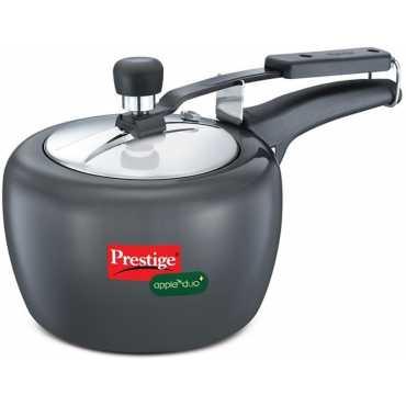 Prestige Apple Duo Plus Hard Andoized 2 L Pressure Cooker Induction Bottom Inner Lid