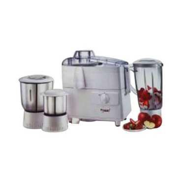 Prestige Wonder 550W 3 Jar Juicer Mixer Grinder - White