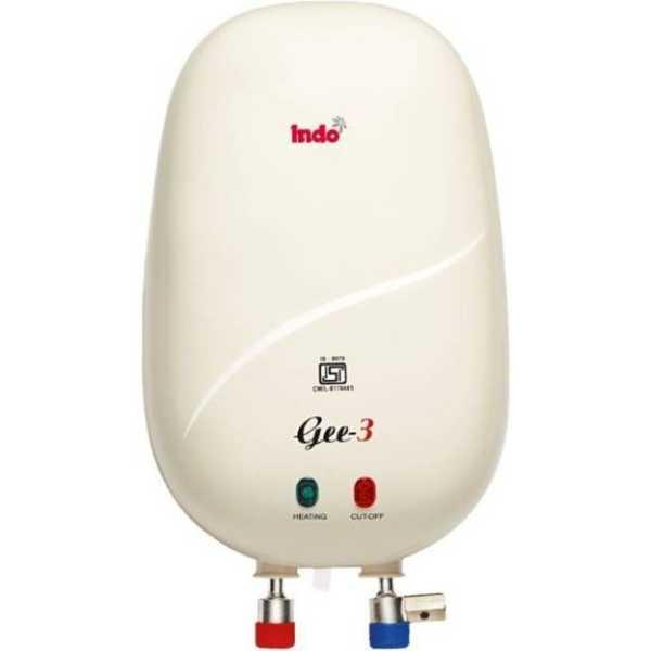 Indo Gee-3 3 L Instant Water Geyser
