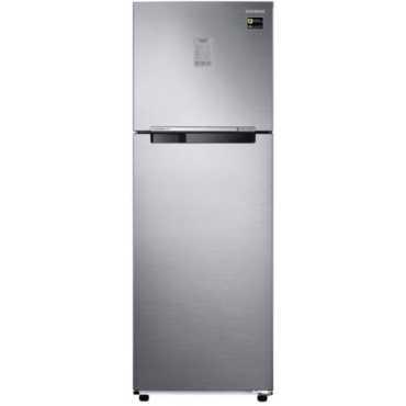 Samsung RT30N3723S8/NL/HL 275 L 3 Star Inverter Frost Free Double Door Refrigerator (Inox) - Inox