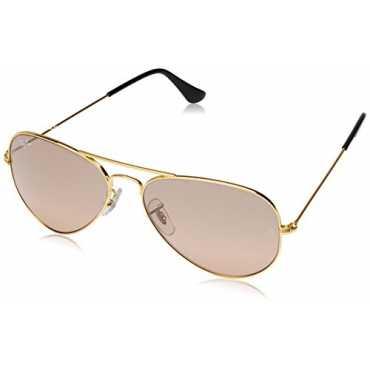 Gradient Round Men Sunglasses (0RB3025I00153E55|54 millimeters|Pink)