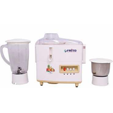 Frito FIJMG 1626 600W Juicer Mixer Grinder (2 Jar) - White