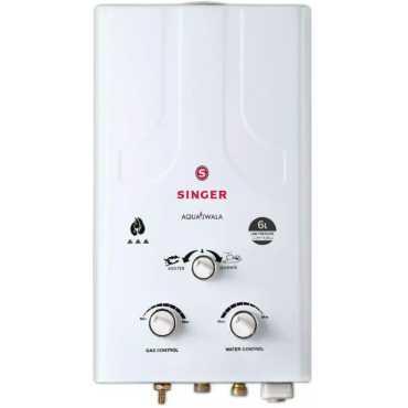 Singer Aqua Jwala 6L Storage Water Geyser - White