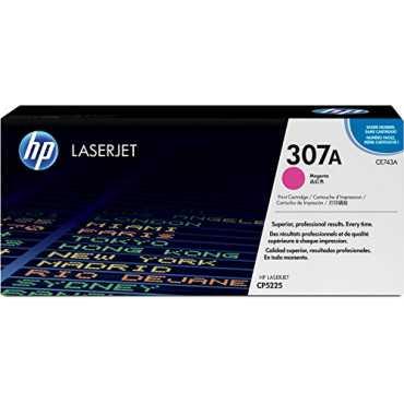 HP 307A Magenta LaserJet Toner Cartridge - Pink | Black