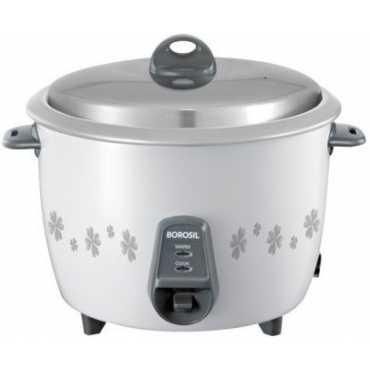 Borosil Pronto BRC18MPC21 1.8 Litre Electric Rice Cooker - White | Grey