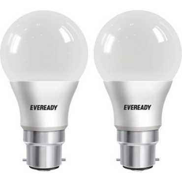 Eveready 5 W LED cool daylight B22 Bulb White (pack of 2) - White
