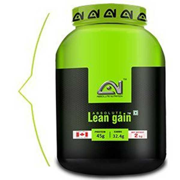 Absolute Nutrition Lean Gain (2kg, Chocolate) - White