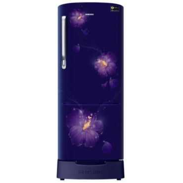 Samsung RR24M285ZU3-NL 230 L 3 Star Inverter Direct Cool Single Door Refrigerator (Rose Mallow) - Blue