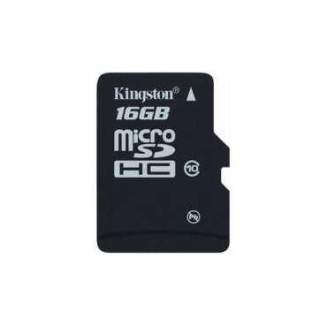 Kingston 16GB MicroSDHC Class 10 (10MB/s) Memory Card - Black