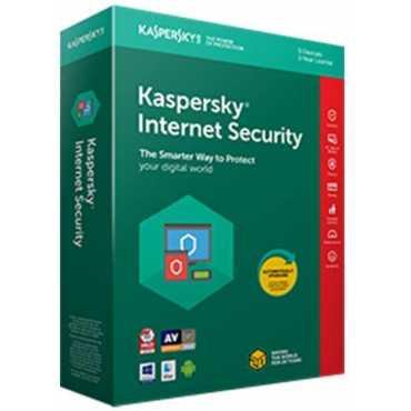 Kaspersky Internet Security 2018 3 PC 1 Year Antivirus