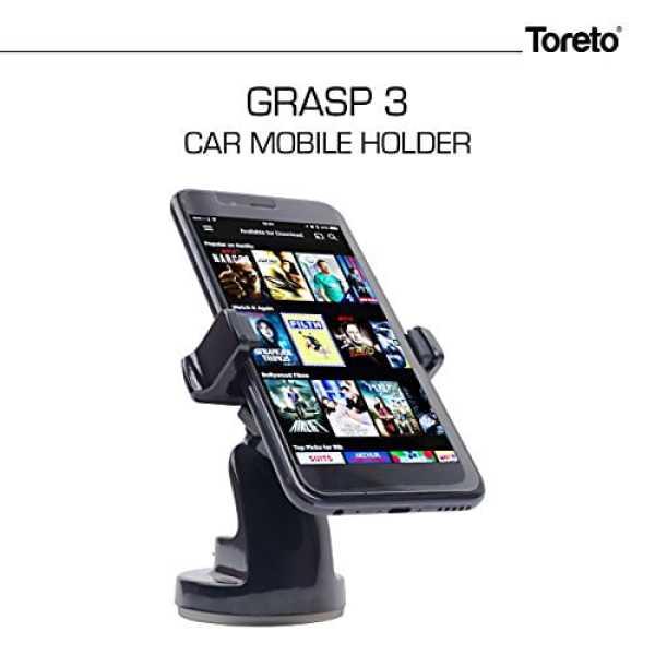 Toreto TOR 157 Mobile Holder - Black