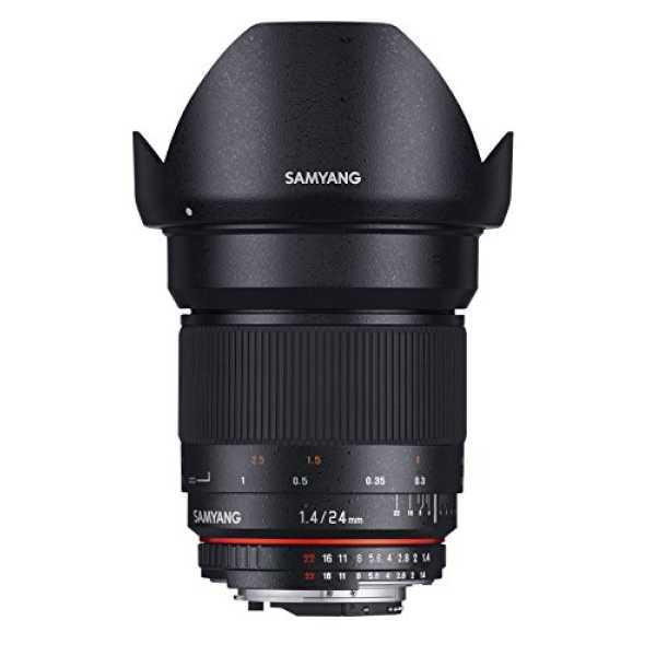 Samyang 24mm F1.4 Manual Focus Lens (For Nikon AE)