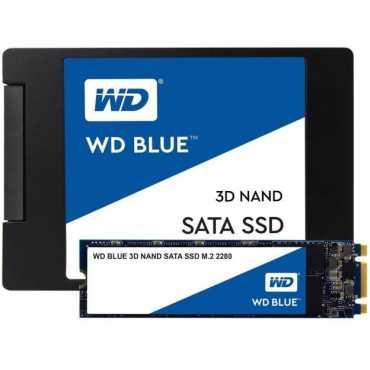 WD Blue (WDS500G2B0B) 500GB 3D NAND SATA Internal SSD - Blue