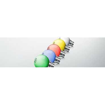Syska 0 5W LED Bulbs Multicolor Pack of 12
