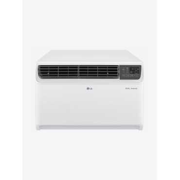 LG JW-Q24WUZA 2 Ton 5 Star Dual Inverter Copper Window Air Conditioner