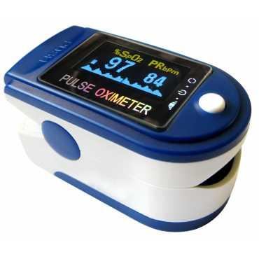 Contec CMS50D Pulse Oximeter - Blue