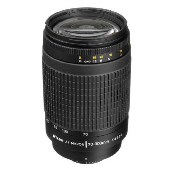 Nikon AF Zoom-Nikkor 70-300mm f 4-5 6G 4 3x Lens