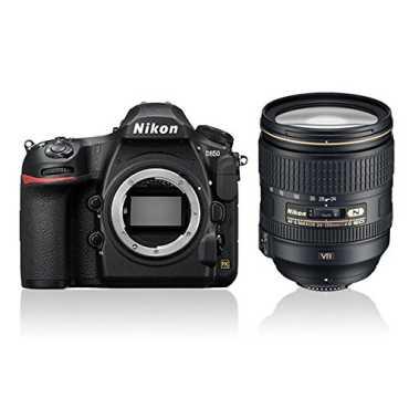 Nikon D850 DSLR (With AF-S NIKKOR 24-120MM F/4G ED VR Lens) - Black