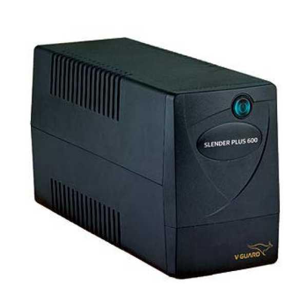 V-Guard Slender Plus 600 UPS - Black