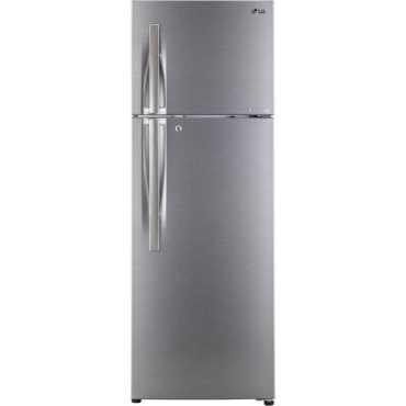 LG GL-C292RDSU 260 L 3 Star Inverter Frost Free Double Door Refrigerator - Grey | Steel