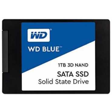 WD Blue (WDS100T2B0A) 1TB 3D NAND SATA Internal SSD - Blue