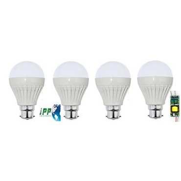 IPP 5W LED Bulb (Pack of 4) - White