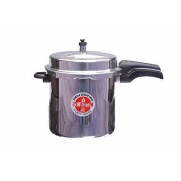 Saral FS00000107 Aluminium 12 L Pressure Cooker (Outer Lid) - Mettalic