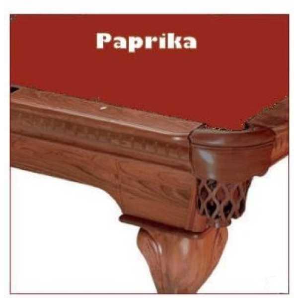Proline PaprikaClassic 303 Teflon Billiard Pool Table