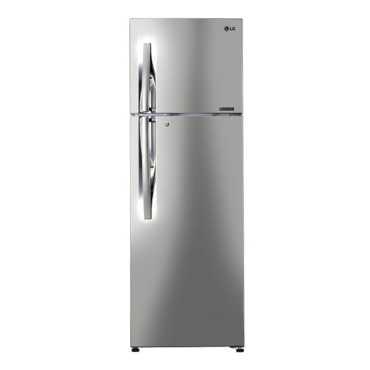 LG GL-C402RPZU 360L 3S Double Door Refrigerator - Steel