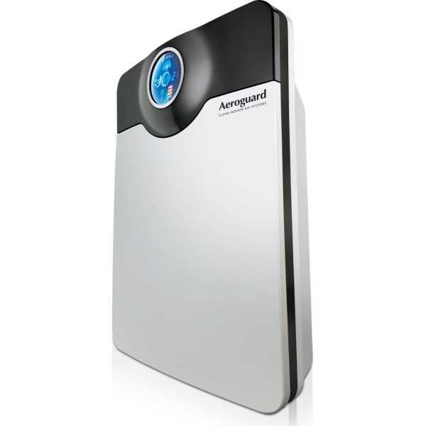 Eureka Forbes Aerogaurd Portable Table Top Air Purifier - Silver