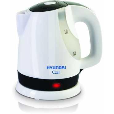 Hyundai Czar HKC10C3P-DBH 1 Liter Electric Kettle - White