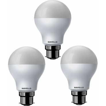 Havells 15W Standard B22 LED Bulb (White, Pack of 3) - White