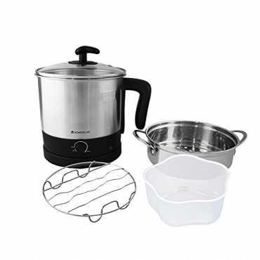Wonderchef Prato 1.6 L Multi Cook Electric Kettle - Black