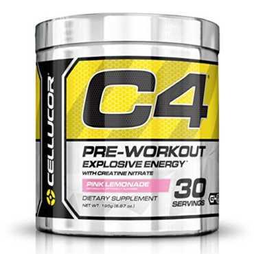 Cellucor C4 Explosive Pre Workout Supplement 30 Servings Pink Lemonade