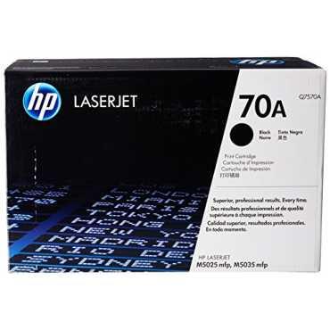HP 70A Q7570A Black LaserJet Toner Cartridge