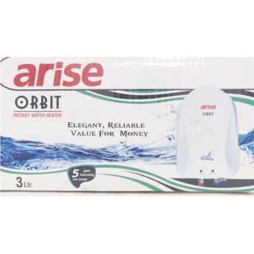 Arise Orbit 3 L Instant Water Geyser - White