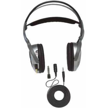 Jensen JHF350 Retractable Headphones - Black