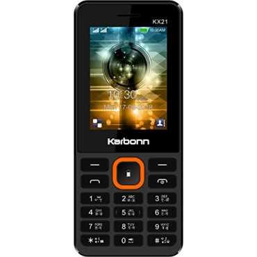 Karbonn KX21 - Black | Black-orange | Black-yellow