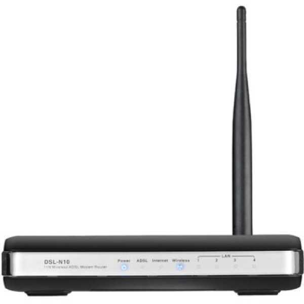 Asus DSL-N10 N150 ADSL Modem Router