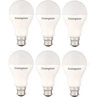 Crompton 23W Standard B22 2300L LED Bulb  (White, Pack of 6) - White