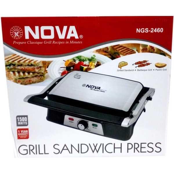Nova NGS 2460 Grill Sandwich Maker