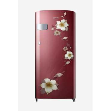 Samsung RR19N2Y12R2/NL 192 L 2 Star Direct Cool Single Door Refrigerator (Star Flower) - Red