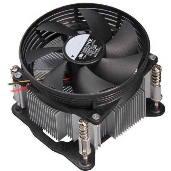 Adnet AD120 Processor Fan - Black