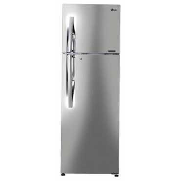 LG GL-C302RPZN 284 L 4 Star Inverter Frost Free Double Door Refrigerator - Shiny Steel