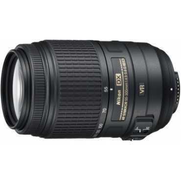 Nikon AF-S DX NIKKOR 55-300mm f/4.5-5.6G ED VR Lens - Black