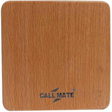 Callmate Wooden 807 10400mAh Power Bank - Brown