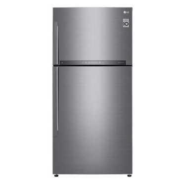 LG GR-H812HLHU 630L Double Door Refrigerator - Steel