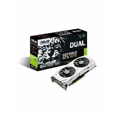 Asus Dual GeForce GTX 1070 (DUAL-GTX1070-8G) 8GB DDR5 Graphics Card